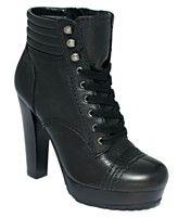 DKNYC Shoes, Valene Platform Booties