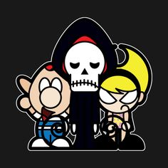 Check out this awesome 'THE+GRIM+ADVENTURES+OF+BILLY+AND+MANDY' design on…