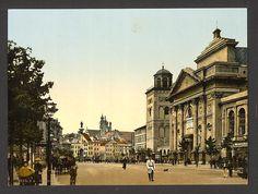 St. Anna's Church, Warsaw, Poland. 1900. Source: U.S. Library of Congress.