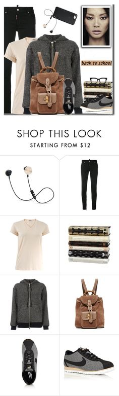 """""""Back To School"""" by carolinez1 ❤ liked on Polyvore featuring Vila Milano, Dsquared2, T By Alexander Wang, F, Sonia Rykiel, NIKE, STELLA McCARTNEY, BackToSchool, WhatToWear and polyvorecommunity"""