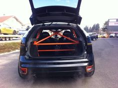 Safety cage in Focus ST mk2 #Ford #Raceing #Sport