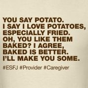 ESFJ - this is me.