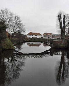 I will see you again, Kobenhavn . #copenhagen #kobenhavn #denmark #fredricksborgcastle #reflections
