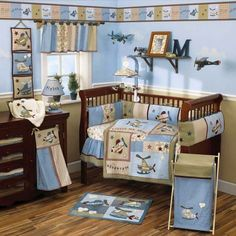 Aviation theme- must do for a little boy