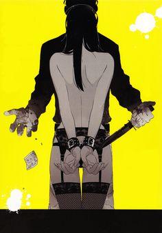 Nicolas Brown   Alex Benedetto   Gangsta   ♤ Anime ♤