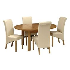 Light Oak 120-160cm Table and 4 Cream Rollback Quality wooden furniture at great low prices from PineSolutions.co.uk. Get Free Delivery and Exchanges on all orders. http://www.MightGet.com/january-2017-11/light-oak-120-160cm-table-and-4-cream-rollback.asp