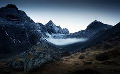 Machermo Valley in Nepal  | photo by Zolashine via Flickr