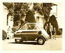 1957 auto uit Veghel gemaakt bij Alweco - de Bambino uit Veghel .                                            De fabriek van Henk Albronda produceerde in Veghel tijdens de jaren '50 de Fuldamobiel en de Bambino 200, eveneens een driewieler van 200 cc.