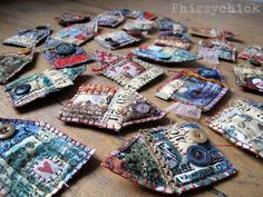 Fabric House Brooches
