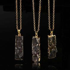 Pendant Healing Chakra Natural Quartz Stone Crystal Bead Point Gemstone Necklace…