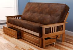 northern exposure rustic futon frame log
