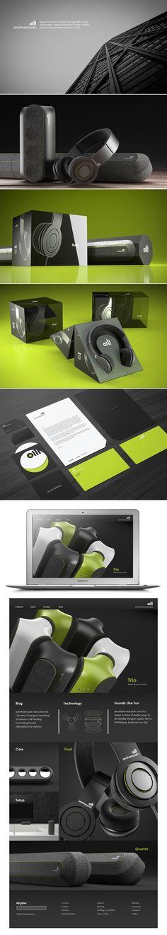 ZeroThreeAudio: Here's some Sound Thinking #identity #packaging #branding PD