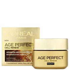 L'Oreal Paris Dermo Expertise Age Perfect Cell Renew Advanced Restoring Night Cream (50ml)