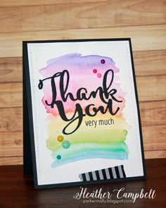 Heather Campbell for Avery Elle using our Thank You Die and Simply Said Love stamps and Dotted dies.