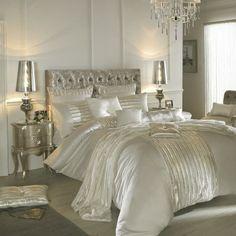 "Kylie Minogue Lucette ""NEW"" bedding sets from £11 #womaninbiz #wineoclock #darlobiz www.thecurtainbar.com"