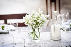 Romantic Wedding Centerpiece -  Weddings in Split - photo by foto Zumba