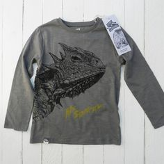 Lion Of Leisure Lizard Tee - Hip And Green