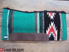 242 Western Gel Saddle Pad Blanket With ANTI SLIP BASE. Perttiest thing i ever seen...would look stunning on a grulla!
