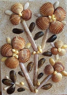 Jewelry ideas and sea shell crafts Seashell Jewelry, Seashell Art, Seashell Crafts, Stone Crafts, Rock Crafts, Arts And Crafts, Seashell Projects, Driftwood Crafts, Sea Crafts