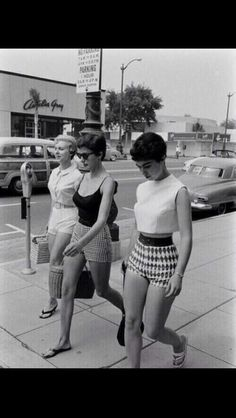 Ladies from the 60ies. So beautiful. #flashback