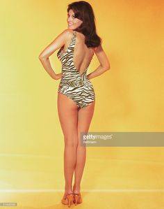 News Photo : Portrait of actress Raquel Welch in a...