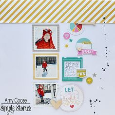Layout by design team member Amy Coose Get at allscrapbooksteals.com