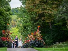 A beautiful Niagara Parks Wedding @niagaraparkswed Here comes the ring bearer and flower girl. Queenston Heights wedding in Niagara-On-The-Lake. Beautiful flowers! #JoshBellinghamPhotography