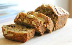 9 Gluten-Free Recipes for Patients with Gluten Intolerance and Celiac Patients - Bread Recipes Almond Banana Bread, Sugar Free Banana Bread, Healthy Banana Bread, Baked Banana, Healthy Cake, Banana Bread Recipes, Banana Oats, Banana Pudding, Gluten Free Cakes