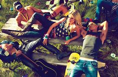Dsquared2 2012 Spring Summer Ad Campaign