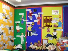 People Who Help Us Display Banner Teaching Displays, Class Displays, School Displays, Classroom Displays, Classroom Decor, Community Jobs, Community Activities, Community Helpers, Interactive Activities