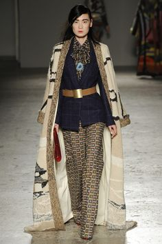 Stella Jean Fall 2014 RTW - Runway Photos - Fashion Week - Runway, Fashion Shows and Collections - Vogue