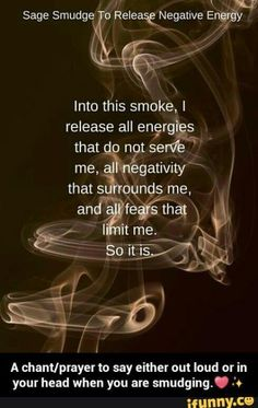 Sage smudging is an ancient method also used by Native Americans. Smudging Prayer, Sage Smudging, Wiccan Spells, Witchcraft, Magick, Wiccan Symbols, Healing Spells, Wiccan Witch, Celtic Paganism