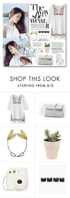 """""""Ye Rim"""" by warna ❤ liked on Polyvore featuring Maison Margiela and undrest."""