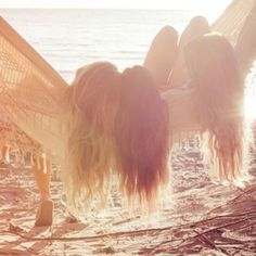 Reminds me of my sister, my best friend and me at the lake....