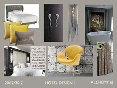 Hotel room design 1