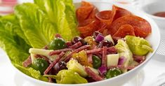 Margherita® | Dinner - Italian Chopped Salad with Margherita® Salami and Pepperoni Recipe