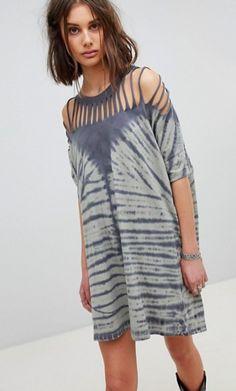Lurik Dress Senandung from ISVARA BATIK in black and multi and grey 1.  kirsten schwindt · dress yes · ASOS Oversized tee dress Tie Dye Dress a12c12dde5