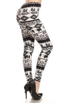 Aztec Print Leggings $15