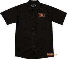 Sons Anarchy Merchanics Shirt
