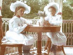 Великие Княжны Мария и Ольга