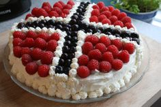 Forest Berry Cream Cake – 17th of May Norway's national day