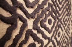 Rugs that have contrasting high pile and low pile designs have a great texture!