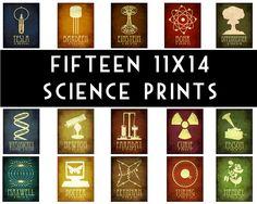 Want.    //Steampunk Science Art Prints.  By #MeganLee