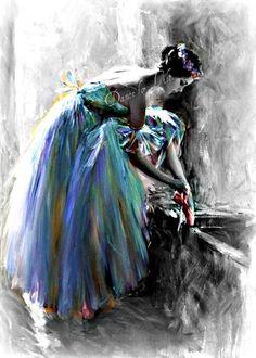 by Ballet News Ballerina Art, Ballet Art, Ballet Dancers, Ballerinas, Ballet Photos, Dance Photos, Dance Images, Ballet Painting, Ballet Beautiful