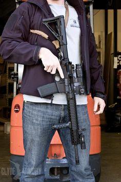 A Daniel Defense M4V5. |CLYDE ARMORY|