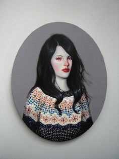 Kris Knight -- kind of creepy/terrifying, kind of beautiful.