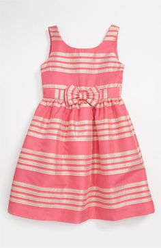 Lilly Pulitzer® 'Linney' Dress (Little Girls & Big Girls) | Nordstrom THIS WOULD BE PERFECT if it was in navy and gold or navy and white!