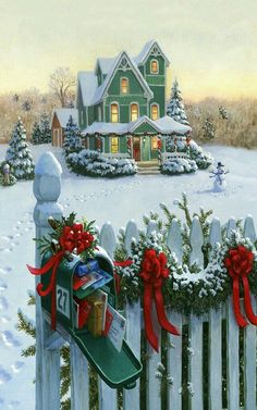 Christmas atmosphere on the farm. Old Fashioned Christmas. - Christmas atmosphere on the farm. Old Fashioned Christmas. Christmas Scenes, Noel Christmas, Victorian Christmas, Vintage Christmas Cards, Little Christmas, Country Christmas, Christmas Pictures, Winter Christmas, Christmas Stockings