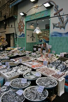 Napoli : mercato di pesce | by jmziss Naples Italy