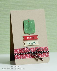 Card by Latisha Yoast for Scrapbook Adhesives by 3L #Christmas